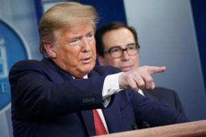 Trump vante les audiences de ses points de presse coronavirus