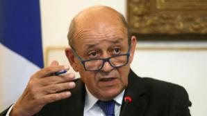 Jean Yves Le Drian, ministre de l'Europe et des Affaires étrangères, chef du Quai d'Orsay