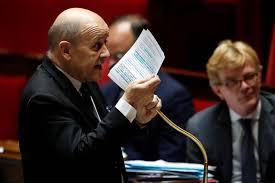 Les Européens pourraient riposter à des annexions en Cisjordanie par Israël, déclare Le Drian