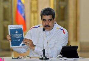 Le Président Nicolas Maduro
