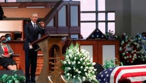 Obama se livre à un réquisitoire anti-Trump