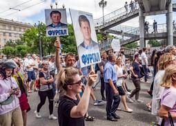 Khabarovsk : une nouvelle manif aux confins de la Russie contre le Kremlin
