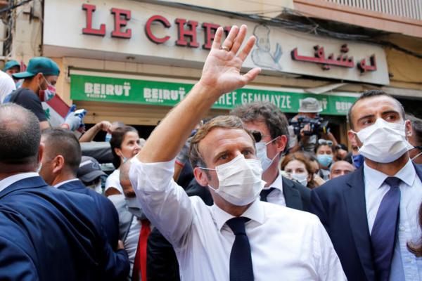 """La France voit """"suffisamment d'éléments"""" pour juger """"accidentelle"""" l'explosion de Beyrouth"""