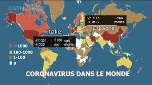 Le bilan de la pandémie de Covid-19 dans le monde
