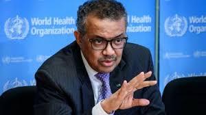 Le directeur général de l'Organisation mondiale de la santé (OMS)