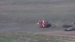 L'Azerbaïdjan bombarde la région du Nagorny Karabakh