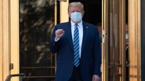 États-Unis : Donald Trump quitte l'hôpital et rejoint la Maison-Blanche