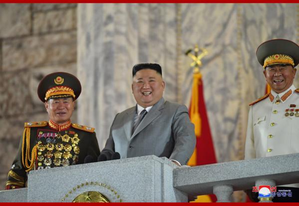 Corée du Nord: le 10 octobre entamé par une parade militaire (communiqué)