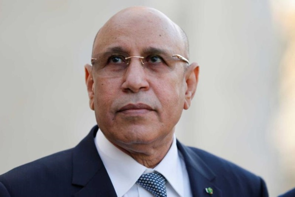 Le Président mauritanien Mohamed Cheikh Ould Ghazouani