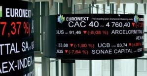 L'Europe finit en baisse, nervosité liée à la pandémie