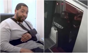 """Producteur noir tabassé: """"Si la justice conclut à une faute, je demanderai la révocation des trois policiers"""", annonce Gérald Darmanin"""