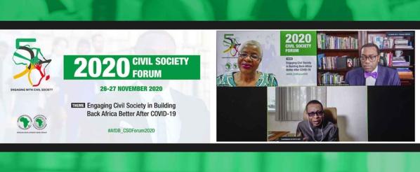 Forum de la société civile 2020 : Youssou N'Dour, Graça Machel et Akinwumi Adesina débattent de la «reconstruction en mieux» après la pandémie de Covid-19 (communiqué)