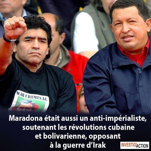 Diego Armando Maradona ou la grandeur de la revanche du pauvre et de l'opprimé