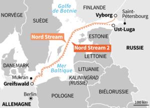 Gazoduc : Les États-Unis demandent un moratoire sur Nord Stream 2