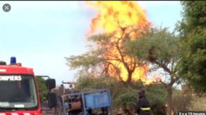 La société Us Haliburton choisie pour éteindre l'incendie au gaz de Ngadiaga (communiqué Petrosen et Fortesa)