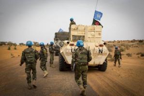Mali : Un Casque bleu tué par une mine artisanale