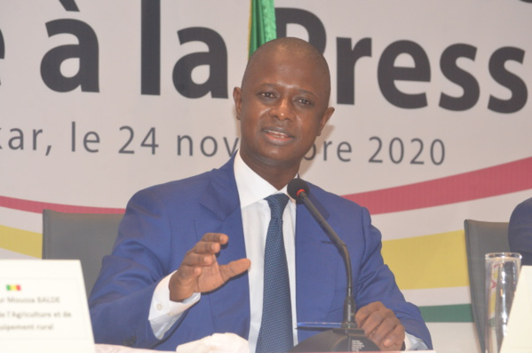Antoine Félix Diome, ministre de l'Intérieur
