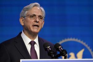 Le procureur général des Etats-Unis, Merrick Garland