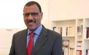 Le nouveau président nigérien, Mohamed Bazoum
