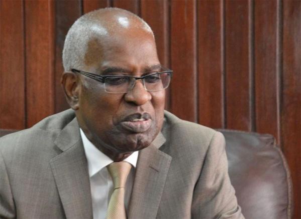 Me Malick Sall, le ministre de la Justice du Sénégal