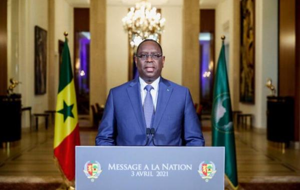 Macky Sall : « Le Sénégal est une nation unie et indivisible. »