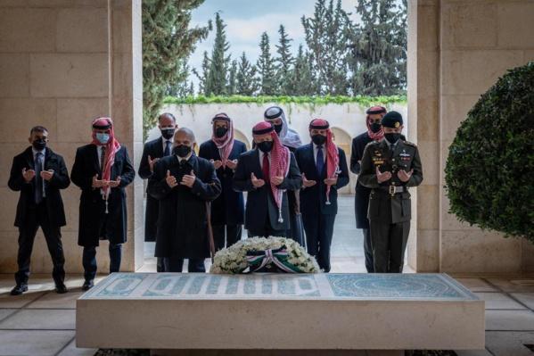 Jordanie : une première apparition commune du roi Abdallah II et du prince Hamza