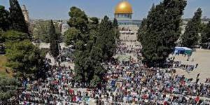 JERUSALEM : Le plus grand rassemblement sur l'Esplanade des Mosquées depuis la COVID-19