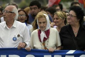 Argentine : Mort à 95 ans de la vice-présidente des Mères de la Place de mai
