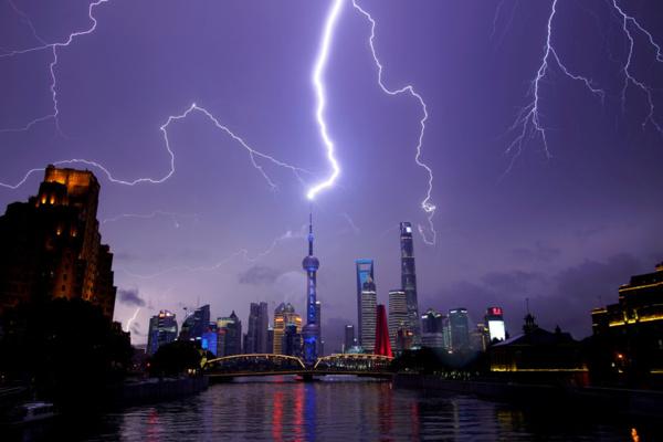 Un orage près de Shangaï fait 11 morts et plus de 100 blessés
