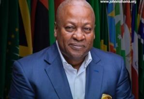 UA : l'ex-président ghanéen John Mahama nommé Haut représentant de l'Union africaine pour la Somalie