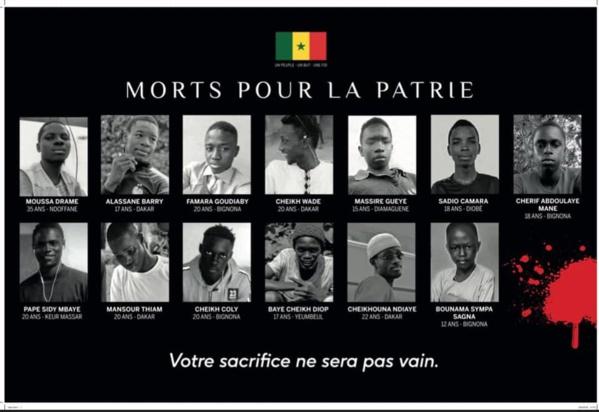 SENEGAL - Après les événements tragiques de mars 2021,