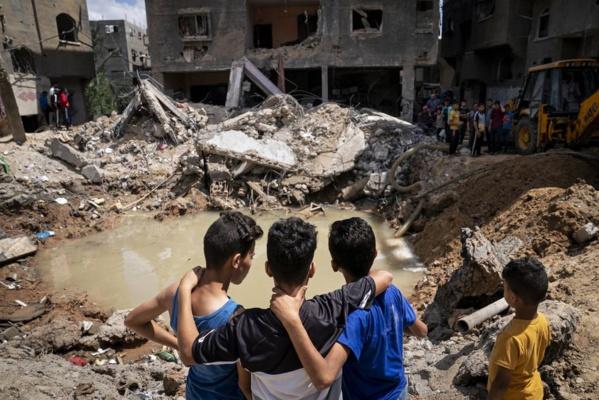 GAZA : l'ONU appelle à régler les «causes profondes» du conflit dont la levée du blocus par Israël