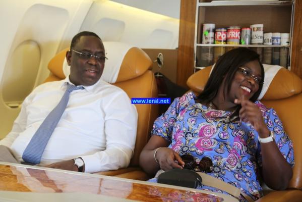 Le président Sall et madame (image d'illustration)