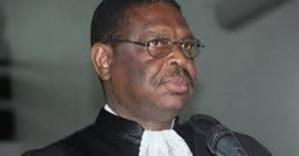 Le Pr Ndiaw Diouf, vice-président du Conseil constitutionnel, arrivé en fin de mandat non renouvelable