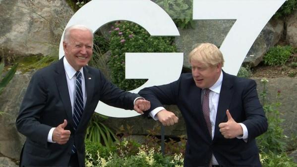 Biden-Johnson : Une première rencontre assombrie par le dossier d'Irlande du Nord