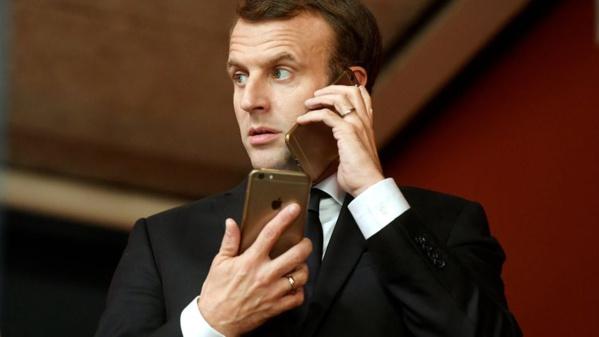 Logiciel espion : Macron annoncé dans les cibles potentielles de Pegasus