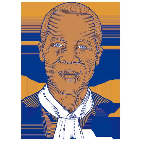Papa Oumar Sakho, président du conseil constitutionnel du Sénégal (photo CC français)