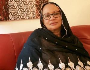Fatima Raymonne Habré, épouse de l'ancien président du Tchad