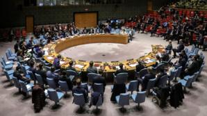 Le conseil de sécurité des Nations unies (illustration)