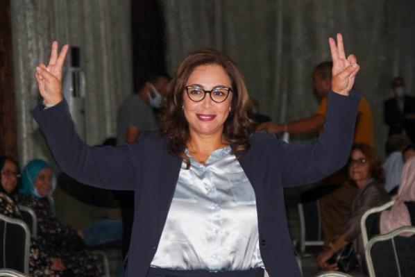 Asmaa Rhlalou, 52 ans, première mairesse de Rabat