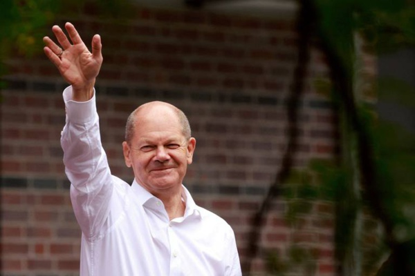 Le socio-démocrate Olaf Scholtz, probable futur chancelier allemand