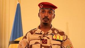 Le président et chef de la junte tchadienne, Mahamat Idriss Deby