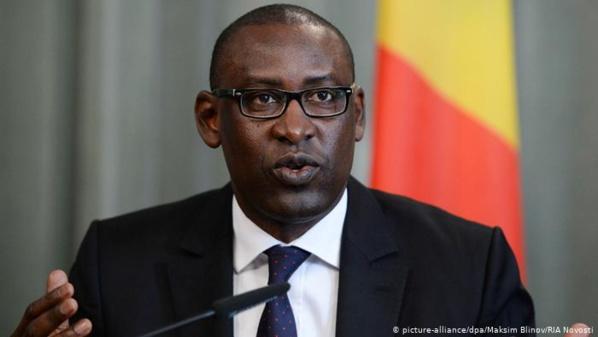 Abdoulaye Diop, ministre des Affaires étrangères du Mali