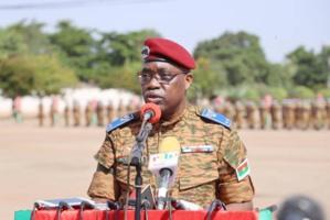 Le Général Gilbert Ouédraogo