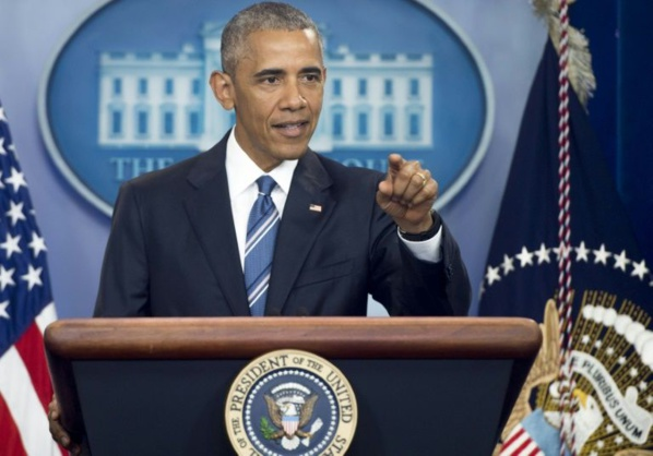 ETATS-UNIS: Obama invite les Américains à ne pas céder aux divisions
