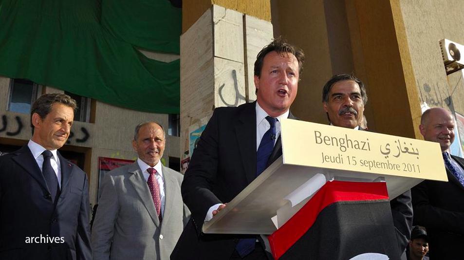 INTERVENTION MILITAIRE EN LIBYE : Sarkozy et Cameron en flagrant délit de mensonge