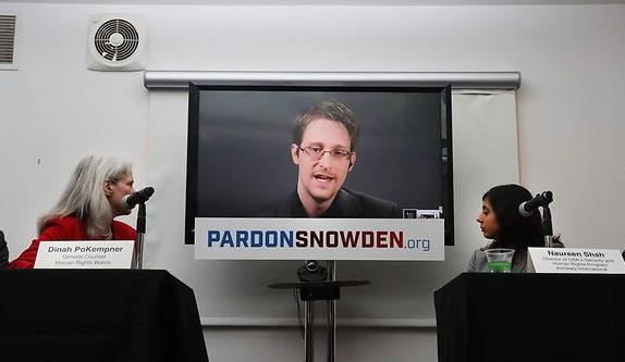 EDWARD SNOWDEN : Une campagne internationale pour demander sa grâce