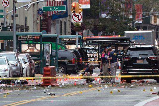 "L'explosion de New York requalifiée en ""acte de terreur"""