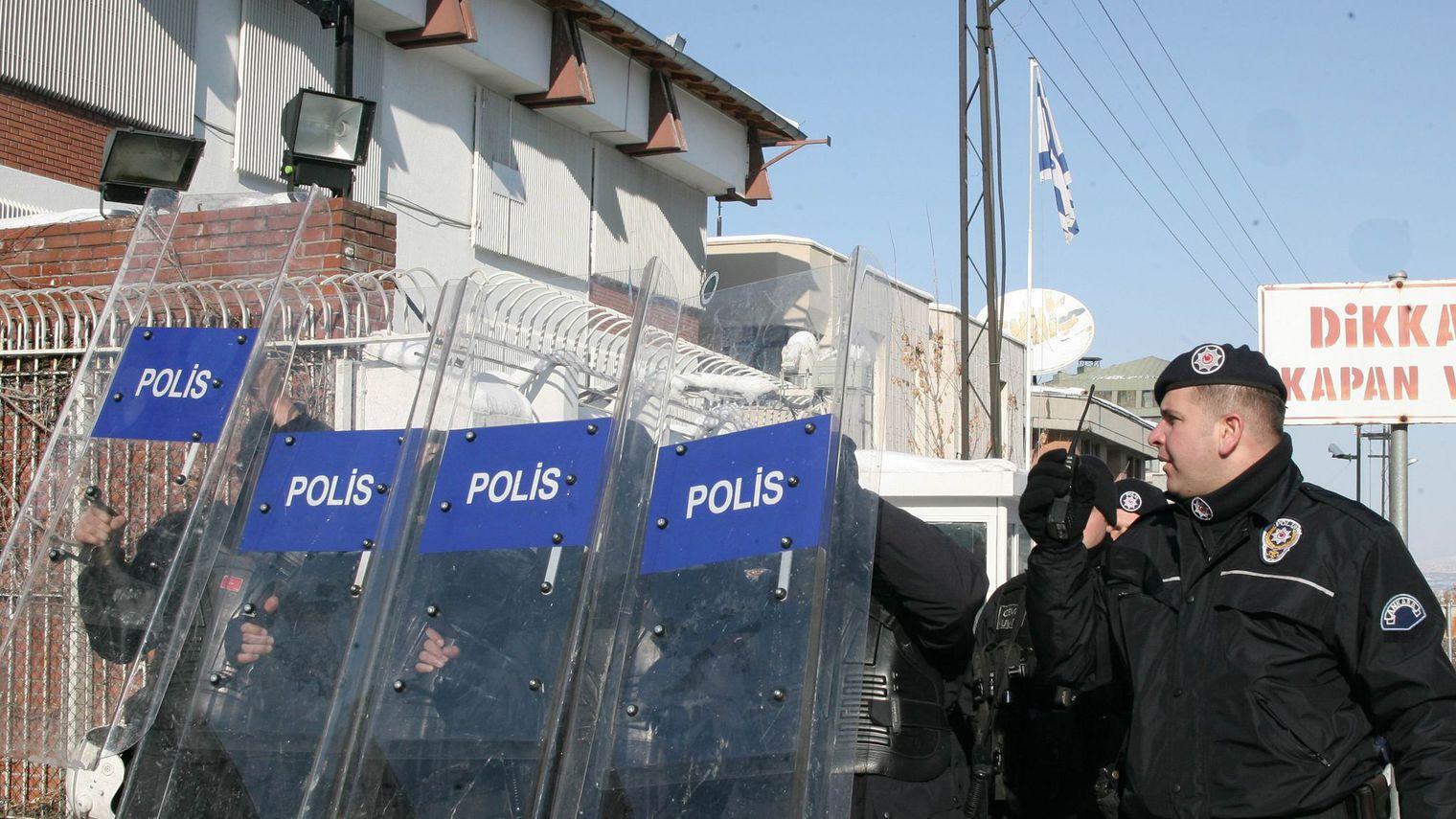 Attaque contre l'ambassade d'Israël en Turquie