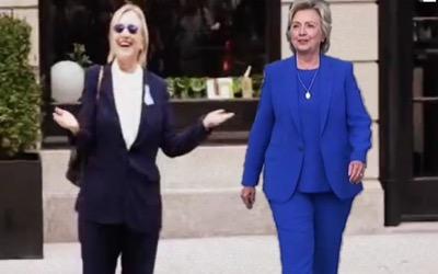 Les deux Hillary